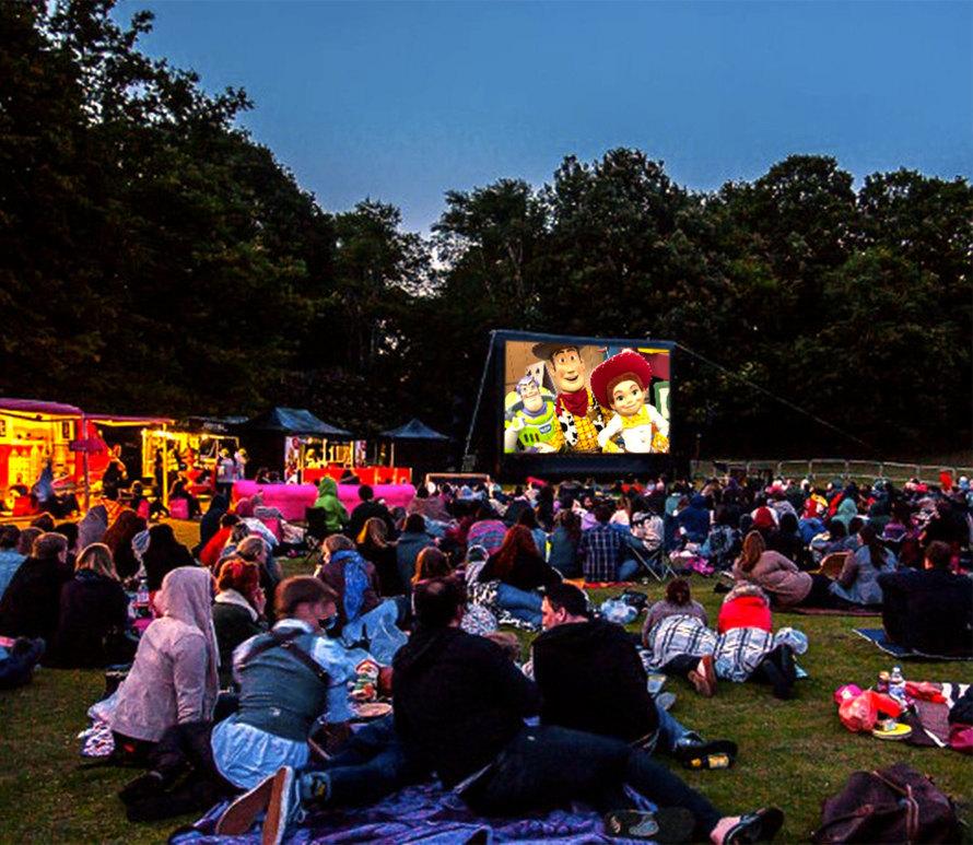 Mobilní letní kino